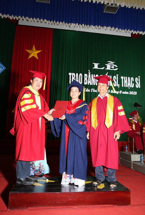Graduation Ceremony for PhD and Master Graduates in 2019